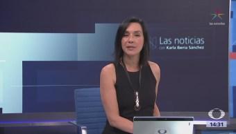 Las Noticias, con Karla Iberia: Programa del 1 de junio de 2018