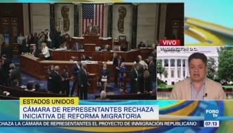 Legisladores rechazan iniciativa de reforma migratoria de Donald Trump