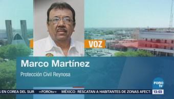 Lluvia Deja Colonias Inundadas Reynosa Tamaulipas