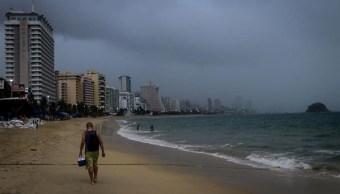 Lluvia en las costas de Acapulco, Guerrero, 28 septiembre 2019