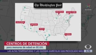Hay 100 Centros Detención Niños Migrantes Eu