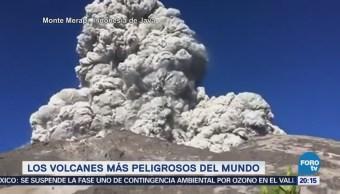 Volcanes Más Peligrosos Mundo Erupciones Volcánicas