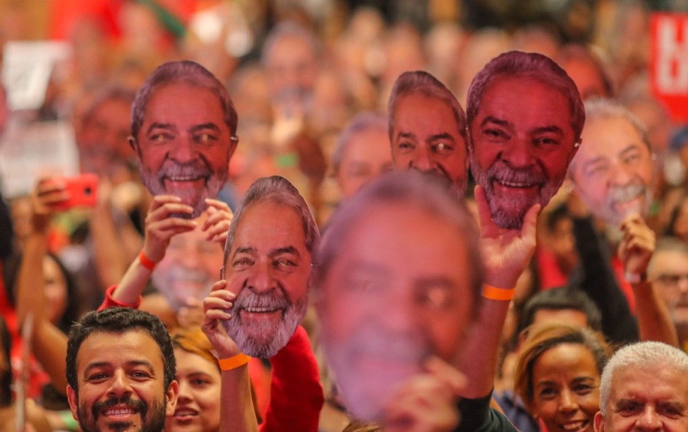 Lula da Silva asume prisión candidatura presidencial PT