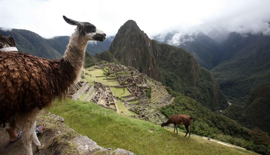 Machu Picchu, ciudad sagrada de los incas en Perú