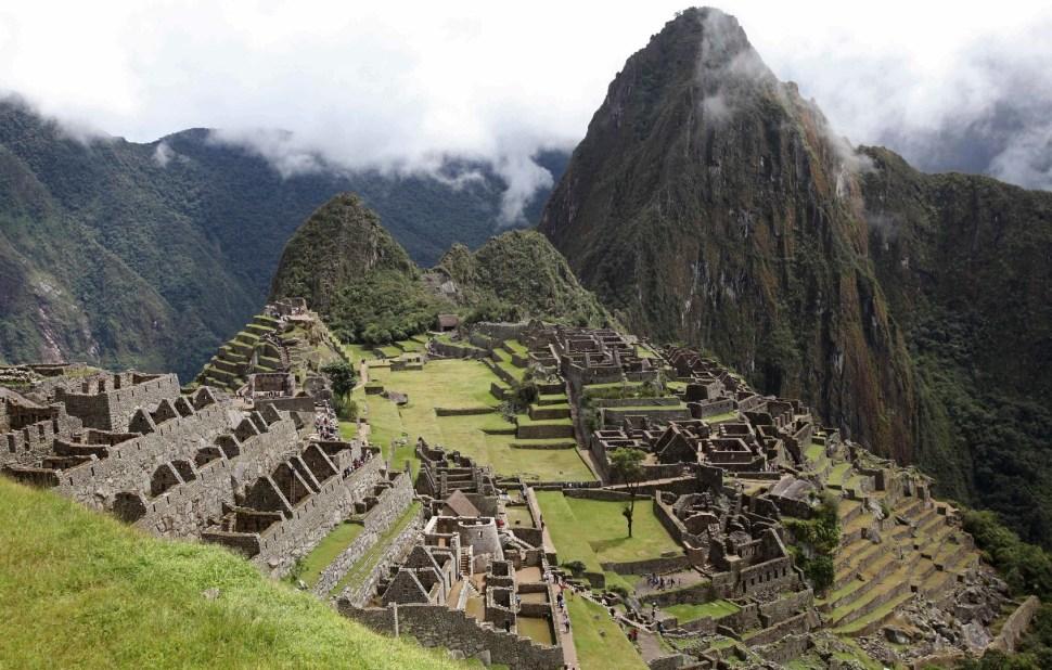 Machu Picchu, ciudad sagrada de la civilización Inca en Perú