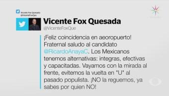 Vicente Fox Muestra Apoyo Ricardo Anaya