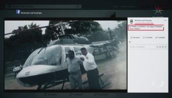 Denuncian Candidato San Miguel Totolapan Uso Helicóptero