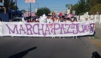 Marcha por la paz en Ciudad Juárez, Chihuahua