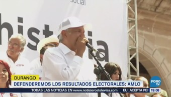 Defenderemos Resultados Julio Dice López Obrador