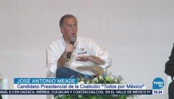 José Antonio Meade Ofrece Corregir Injusticias