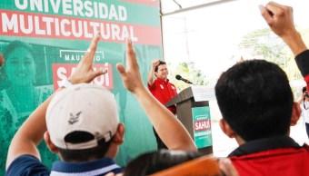 Mauricio Sahuí propone volver Yucatán Polo Universitario