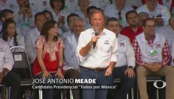 Meade cierra campaña en Coahuila