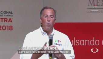 José Antonio Meade Participa Convención Canacintra