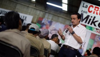 Mikel Arriola propone acuaférico para abastecer agua Iztapalapa