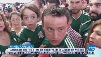 Mikel Arriola Visita deportivo Plan Sexenal