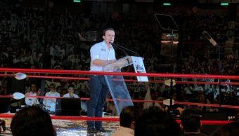 Mikel Arriola cierra campaña en el Palacio de los Deportes