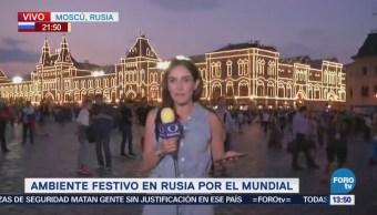 Moscú registra temperaturas de más de