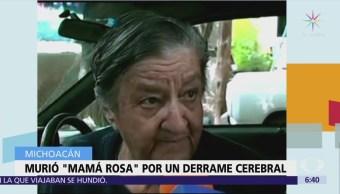 Muere mamá Rosa, fundadora de 'La Gran Familia'