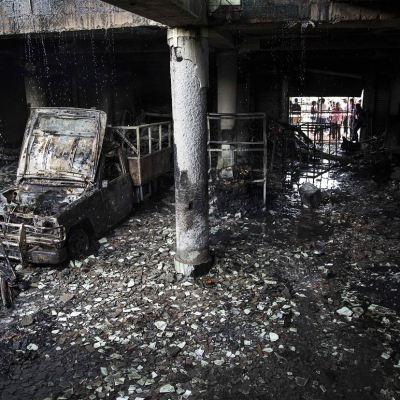 Seis muertos, incluido dos niños, por incendio en un barrio de Nicaragua