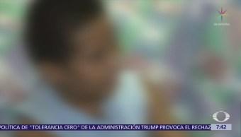 Niños migrantes son detenidos en un almacén de Brownsville, Texas