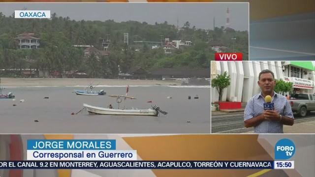 No hay daños de consideración en Oaxaca por 'Carlotta'