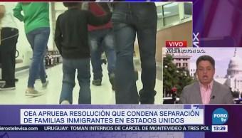 Oea Aprueba Resolución Condena Separación Familias Migrantes