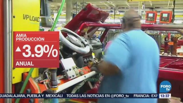 Producción Automotriz Aumenta 3.9 Anual Amia