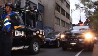 Reportan daños operativo policiaco en Venustiano Carranza
