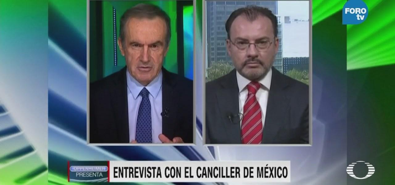 Oppenheimer Programa Junio Maduro Luis Videgaray