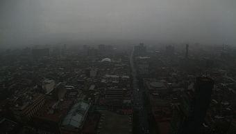 Prevén tormentas y posible caída de granizo en la Ciudad de México