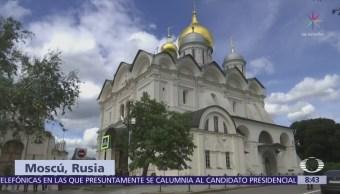 Paola Rojas recorre la Plaza de las Catedrales