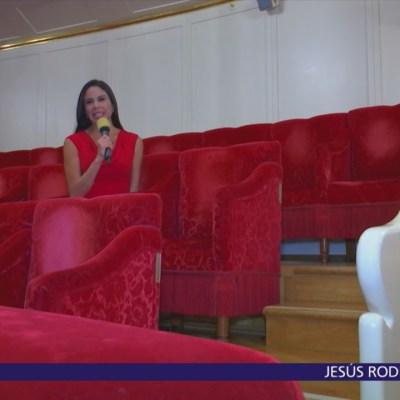 Paola Rojas transmite desde el Teatro Bolshoi de Moscú