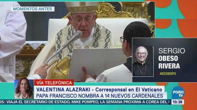 Papa Francisco nombra a 14 nuevos cardenales