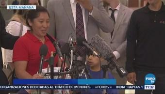 Madre Guatemalteca Reúne Hijo Eu