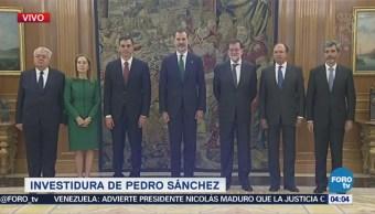 Pedro Sánchez Toma Protesta Como Presidente España