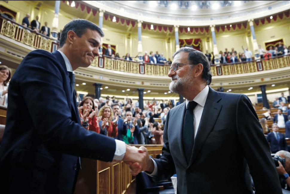 Pedro Sánchez y Mariano Rajoy. (EFE)