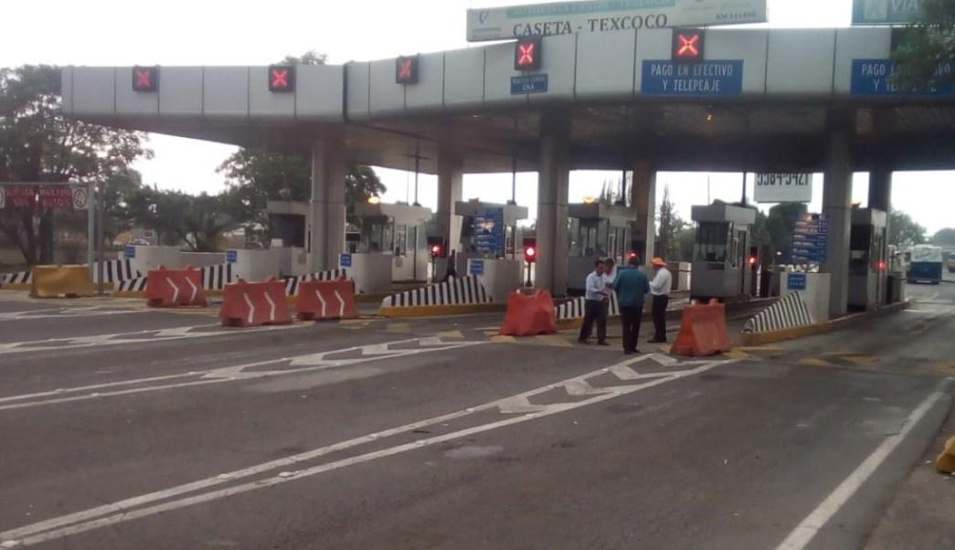 Se normaliza la circulación en autopista Peñón-Texcoco