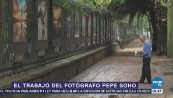 Pepe Soho expone su obra en las rejas de