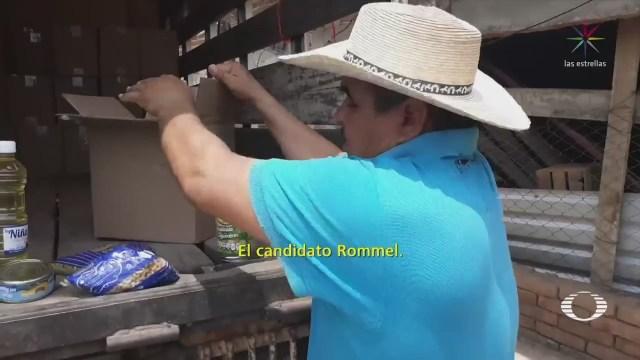 Perla Negra Candidato Guerrero Realiza Proselitismo Helicóptero