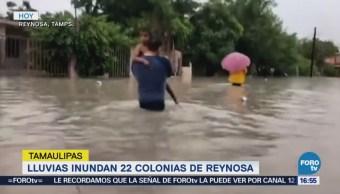 Piden extremar precauciones por lluvias en Tamaulipas