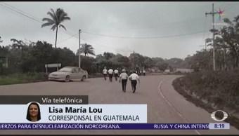 Podrían ser decenas de muertos por Volcán de Fuego en Guatemala