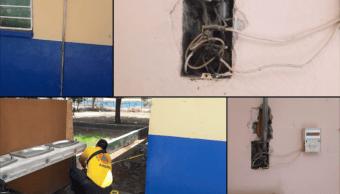 Niño Electrocutado Muere Primaria Protección Civil