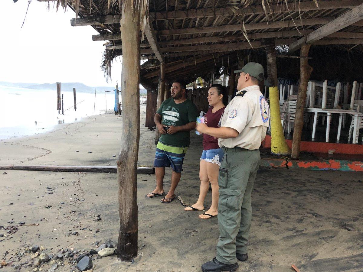 Puerto Vallarta vigila los efectos de 'Bud'