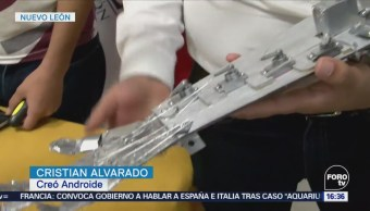 Preparatorianos Neoleoneses Crean Androide Competir