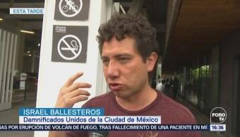 Damnificados Multifamiliar Tlalpan Denuncian Agresiones