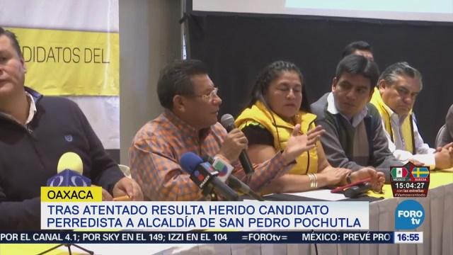 Dan Cinco Balazos Candidato Pochutla Oaxaca