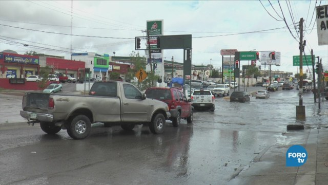 "Remanentes de ""Bud"" provocan lluvias intensas en Chihuahua"