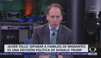 Report Trump: Niños detenidos sin sus padres