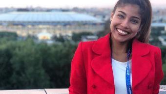 Reportera colombiana es acosada en Rusia mientras informaba en directo