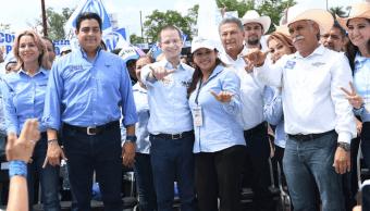 Anaya se compromete a recuperar la paz en Tamaulipas